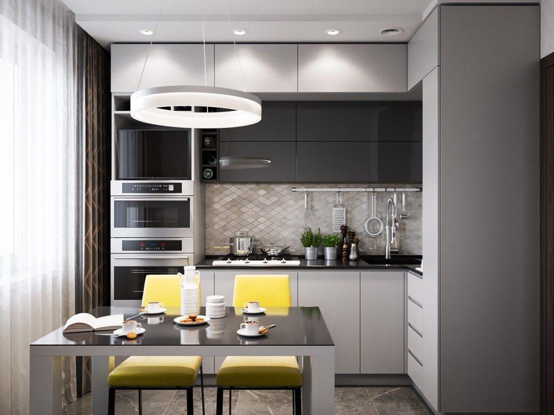 Причины, по которым не рекомендуют делать кухню до потолка