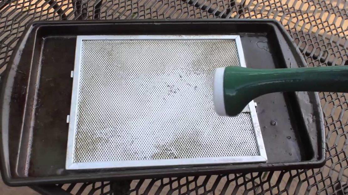 Как очистить вытяжку от жира