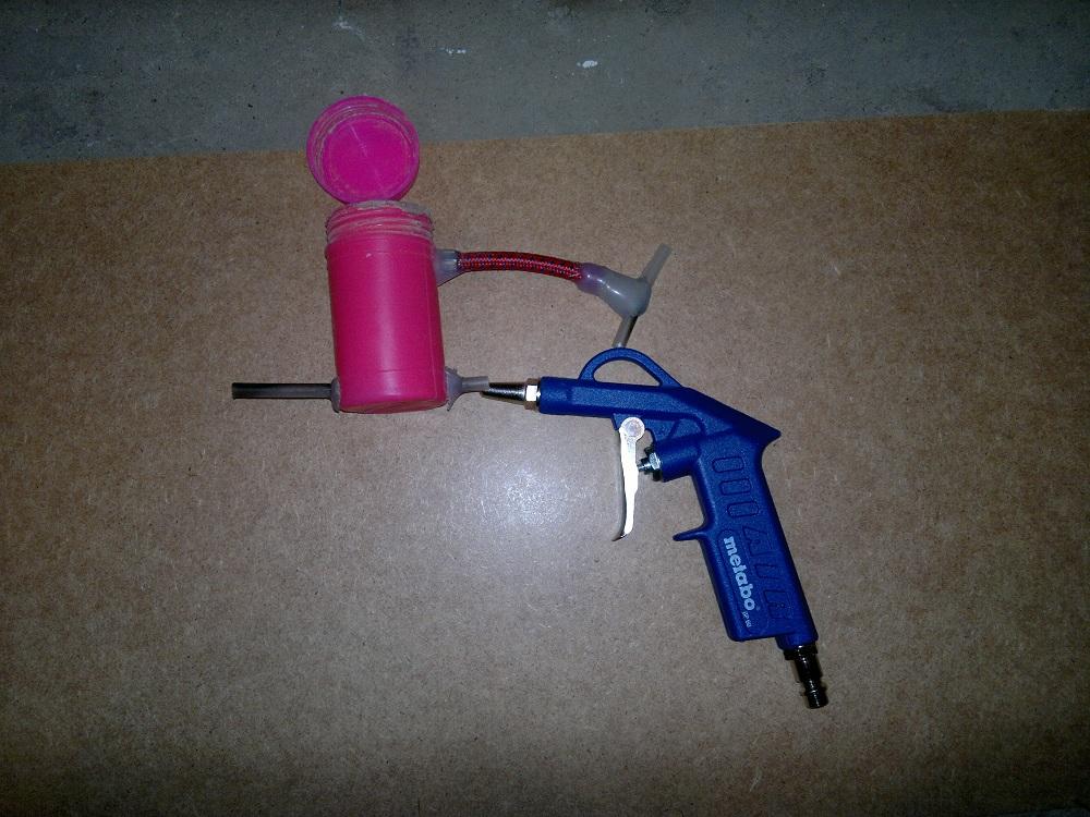 Пескоструйный пистолет своими руками