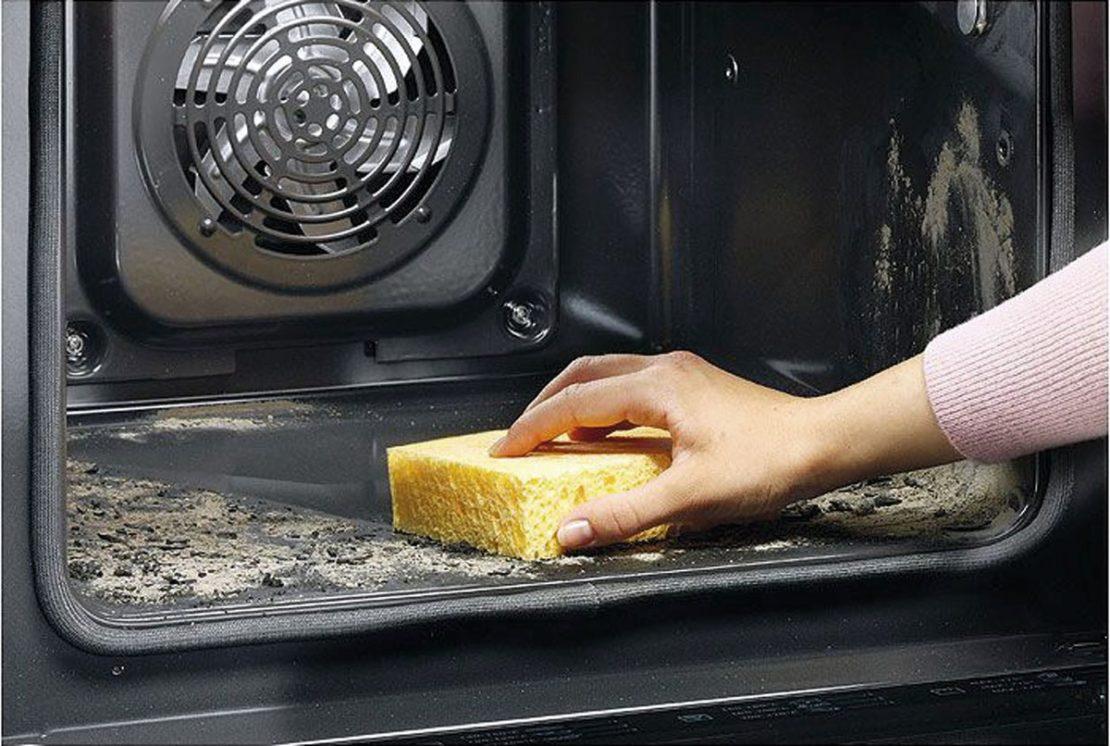 Мытье газовой и электрической печей