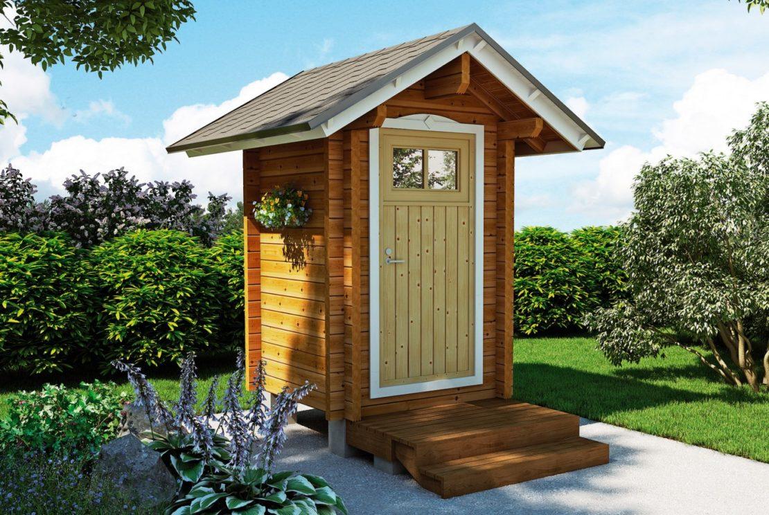 туалет домик