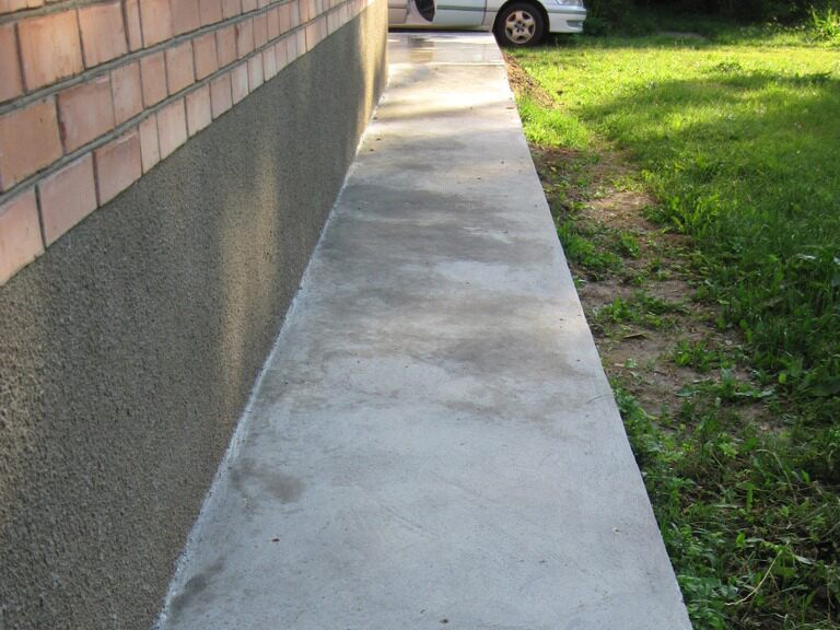 Отмостки из бетона