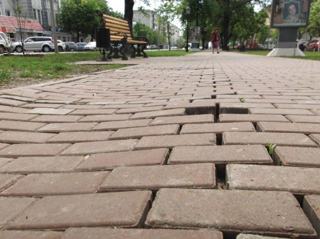 Основные ошибки при выкладке тротуарной плитки