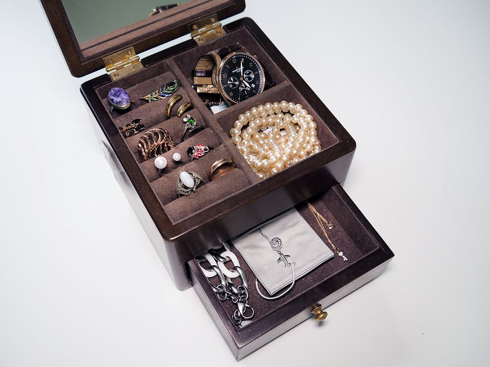 Правила хранения изделий из золота