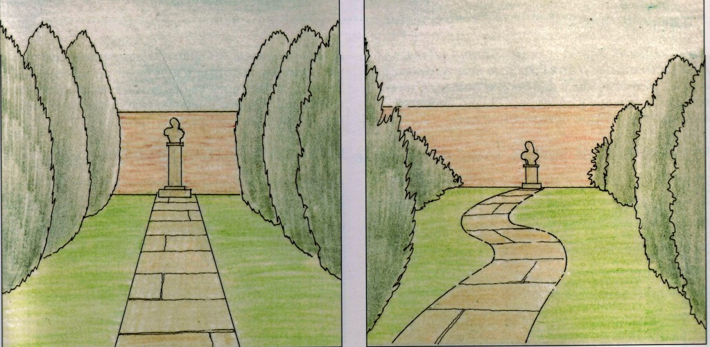 Способы визуального увеличения дачного участка