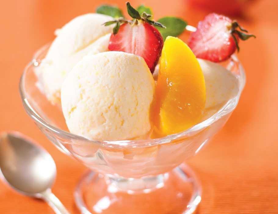 Замороженный десерт для диабетиков