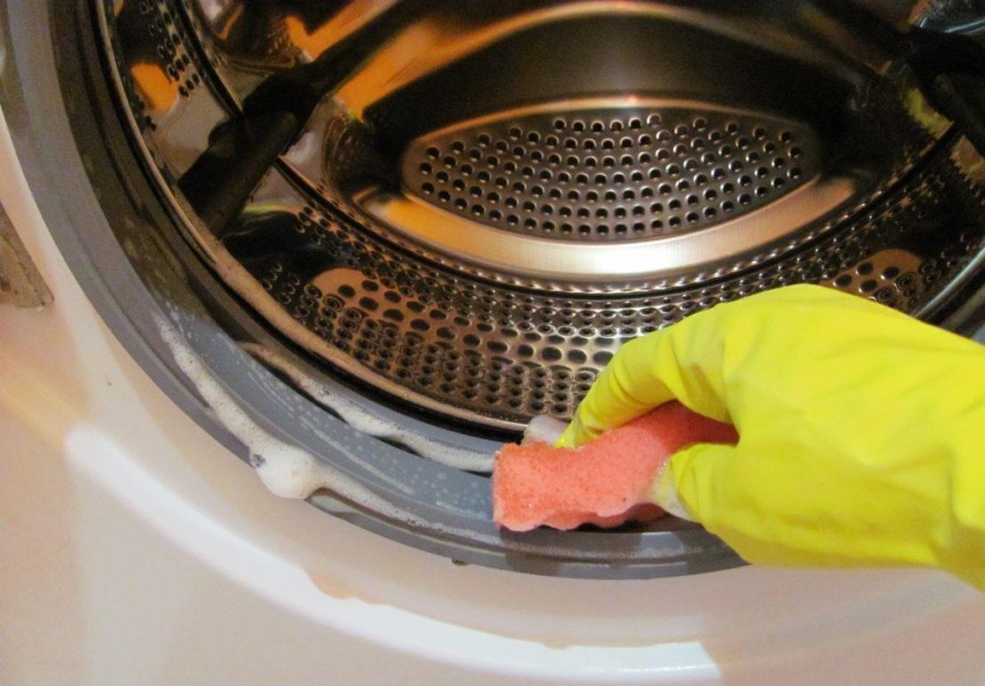 профилактика загрязнений стиральной машинки