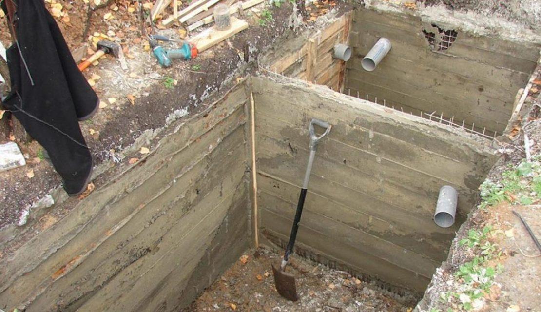 яма для туалета с фильтрацией