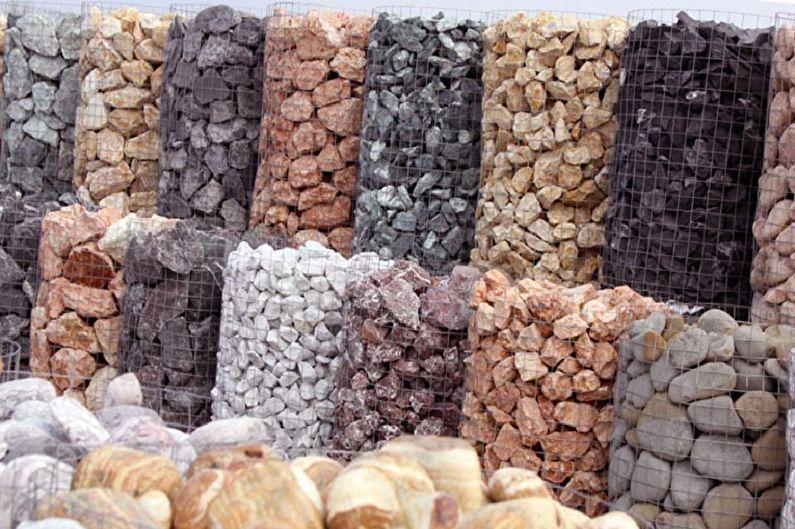 камни для наполнения габионов