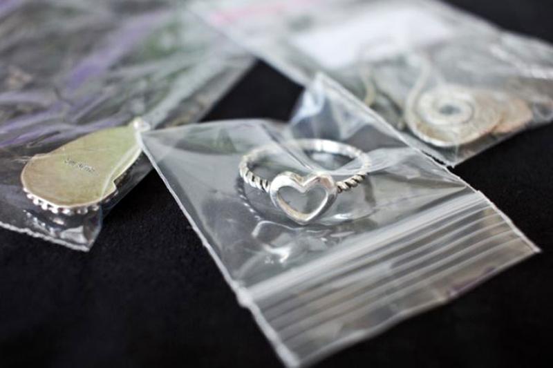 Правила хранения изделий из серебра