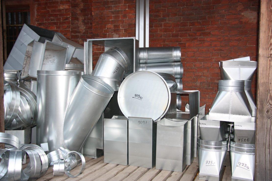 трубы металлические для воздуховодов