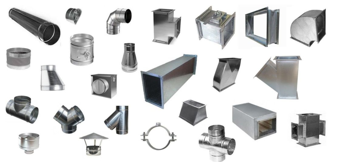 элементы систем вентиляции