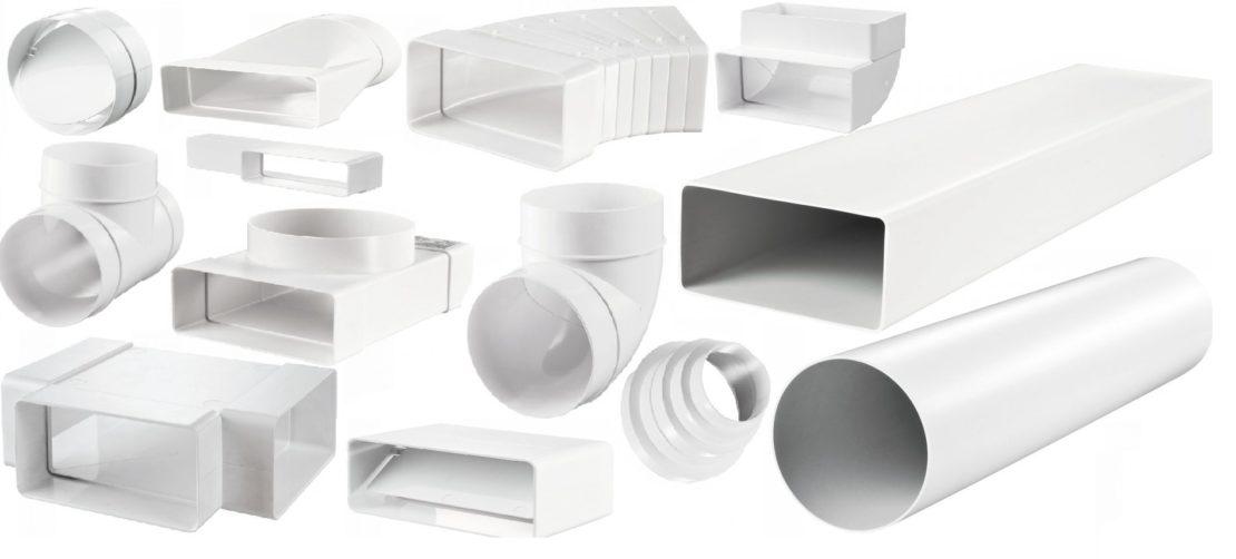 сечение и размеры воздуховодов