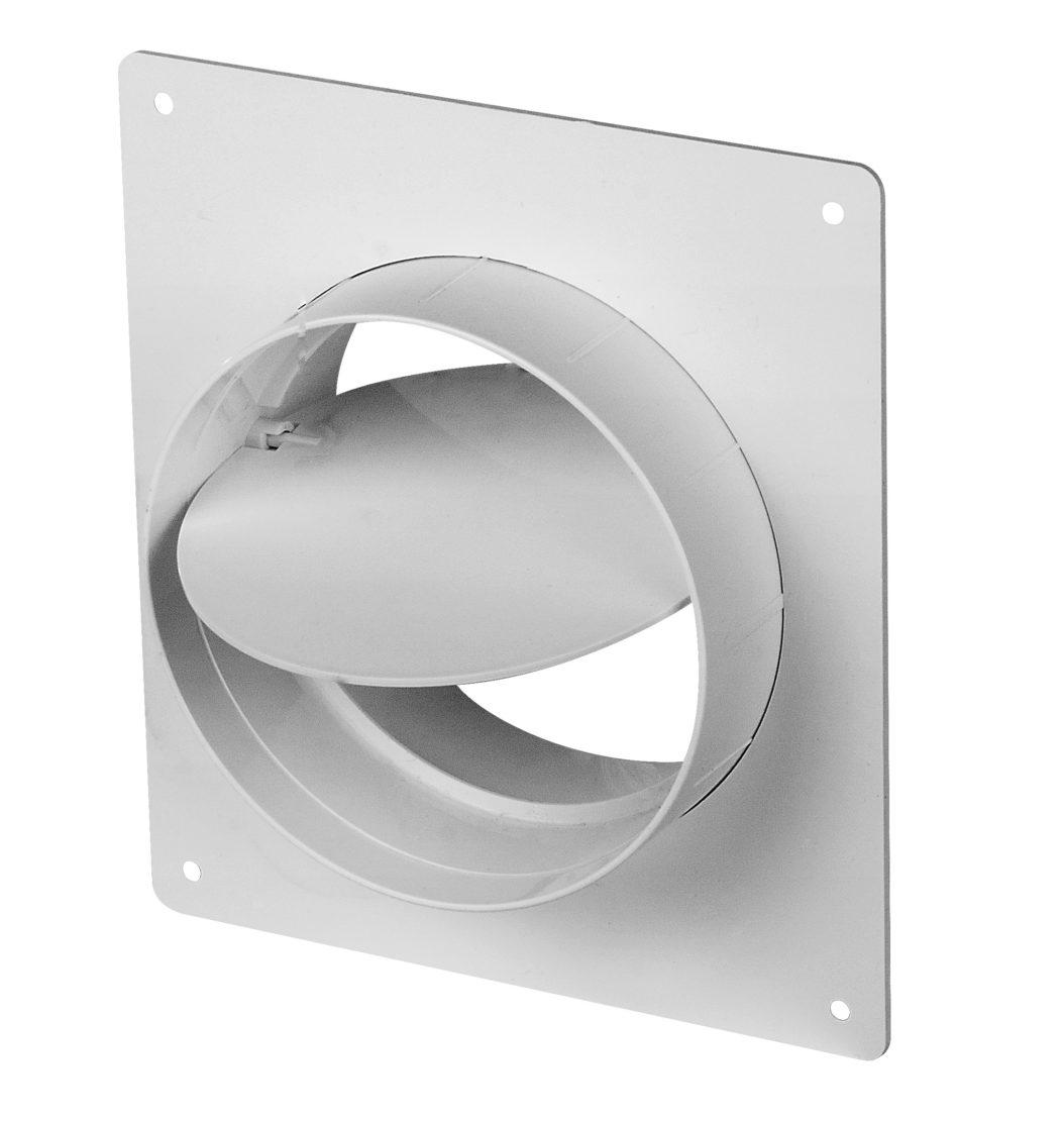 гравитационный одностворчатый клапан