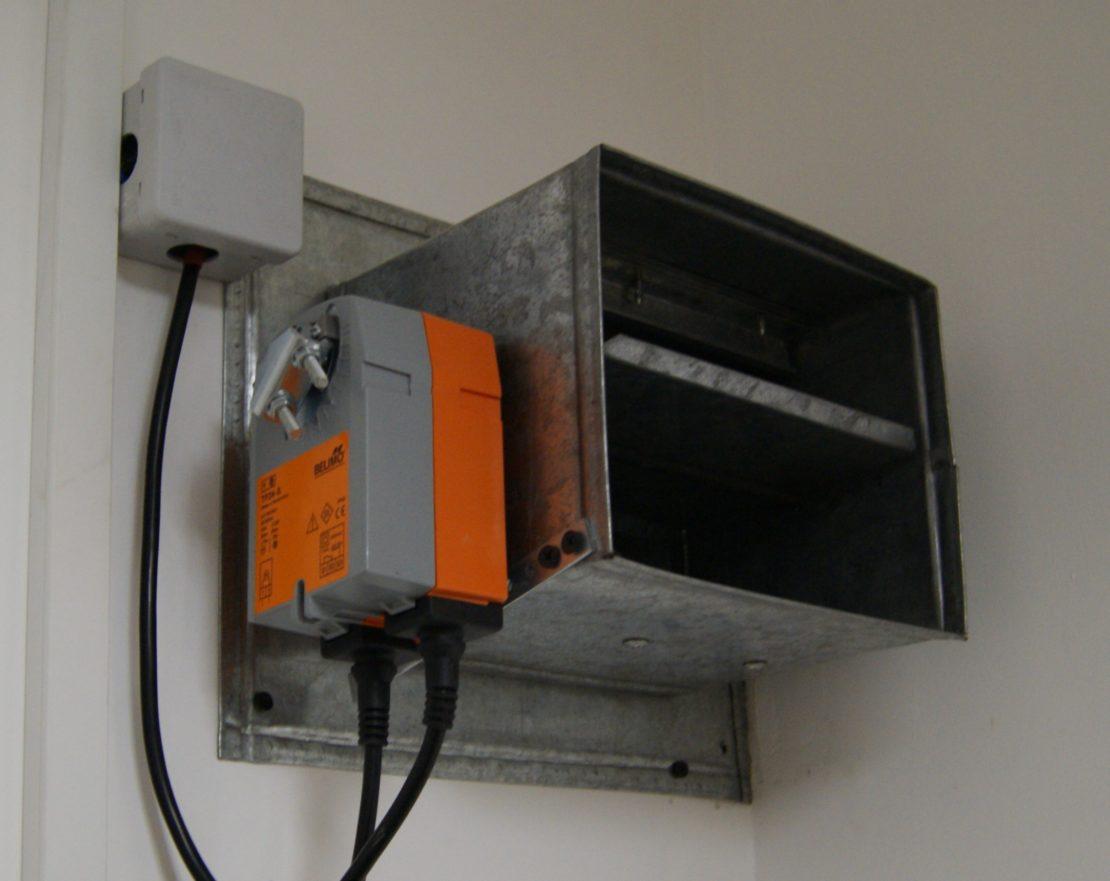 противопожарные клапаны для вентиляции