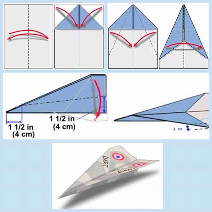 модель самолётика