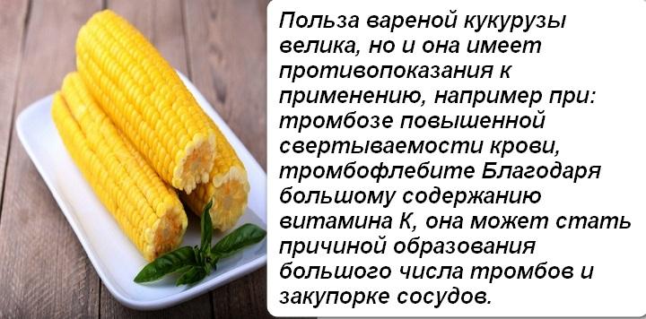 Польза вареной кукурузы для здоровья