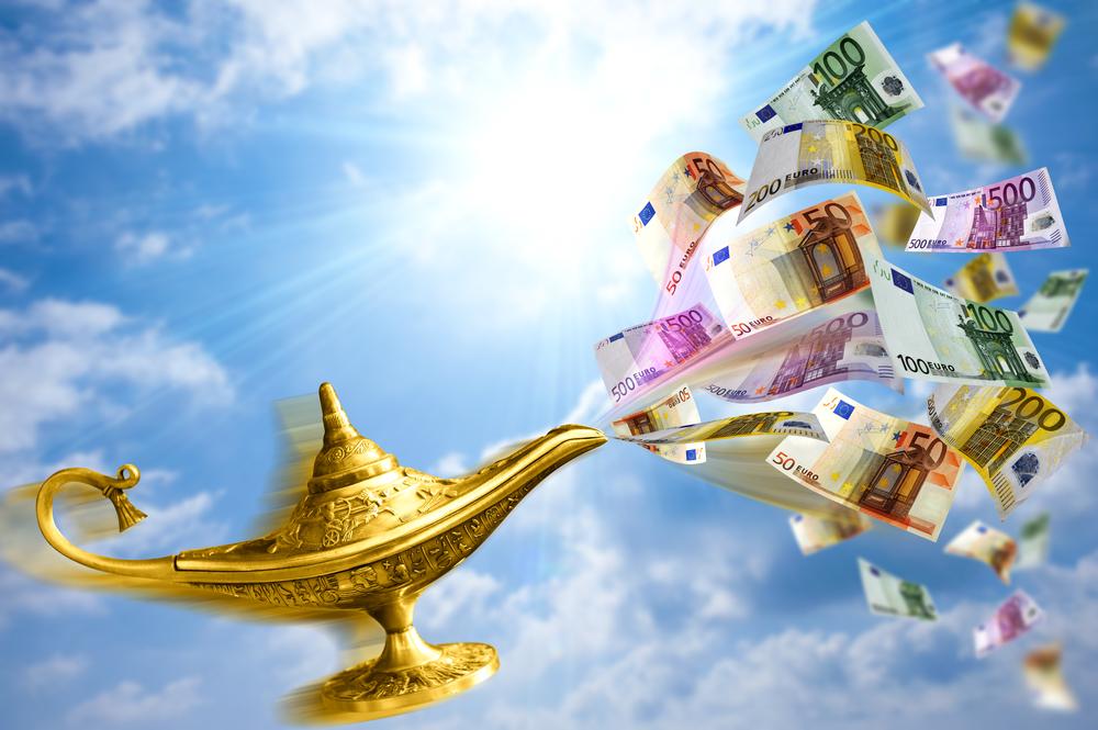 деньги на карте желаний