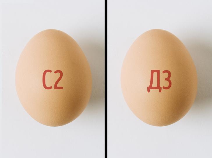 маркировка куриных яиц