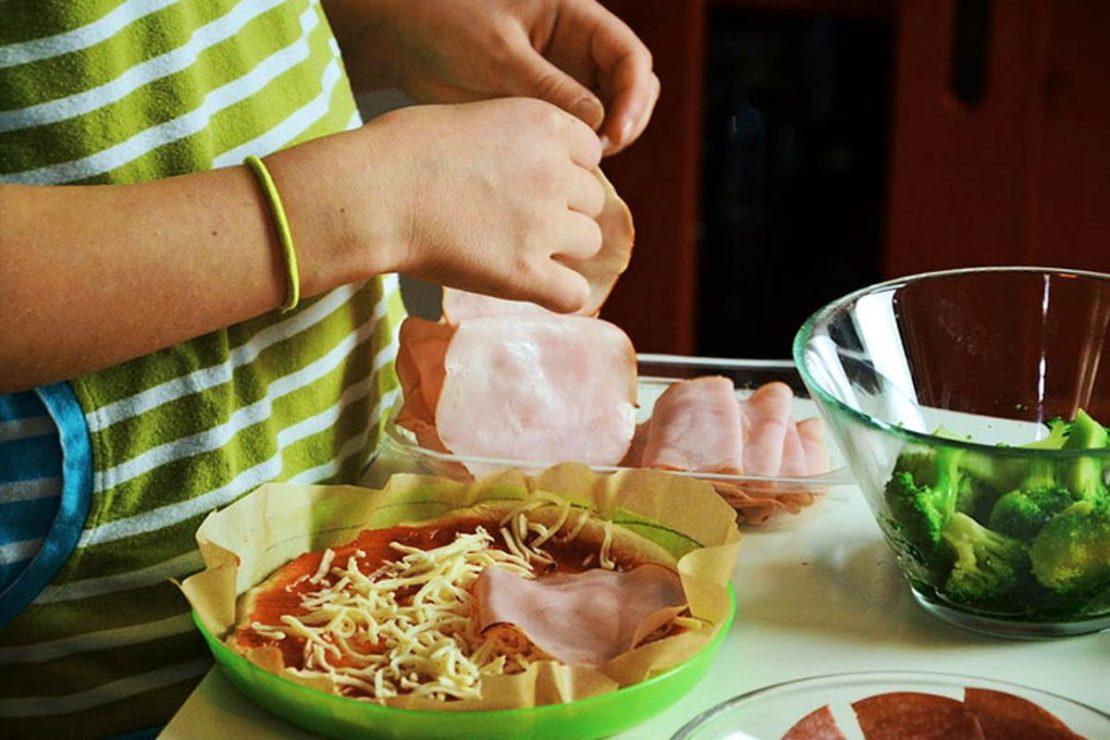 приготовление еды своими руками