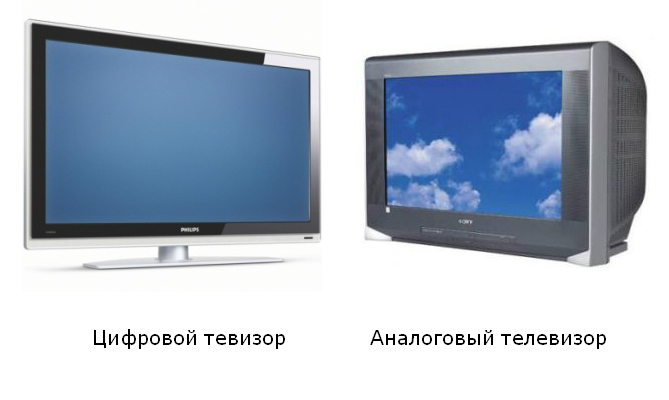 отличие цифрового ТВ от аналогового