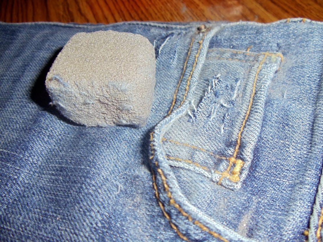 пемза для потертости на джинсах