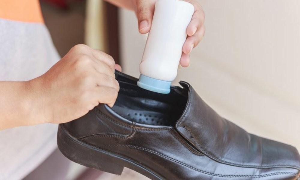 борная кислота от запаха обуви
