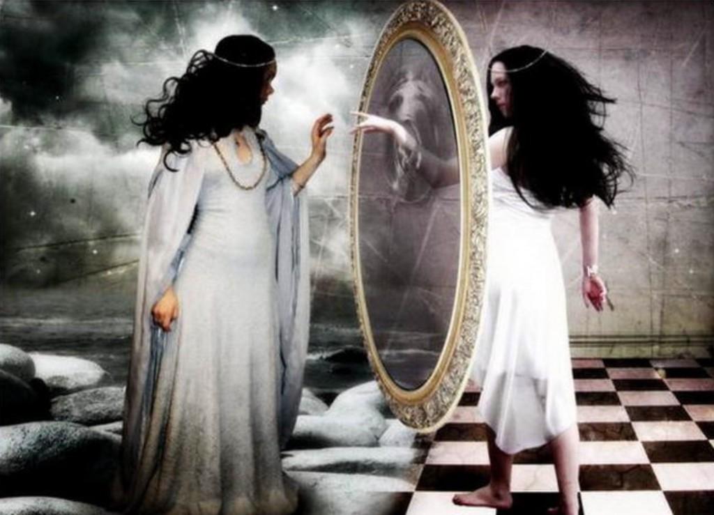не спать напротив зеркала