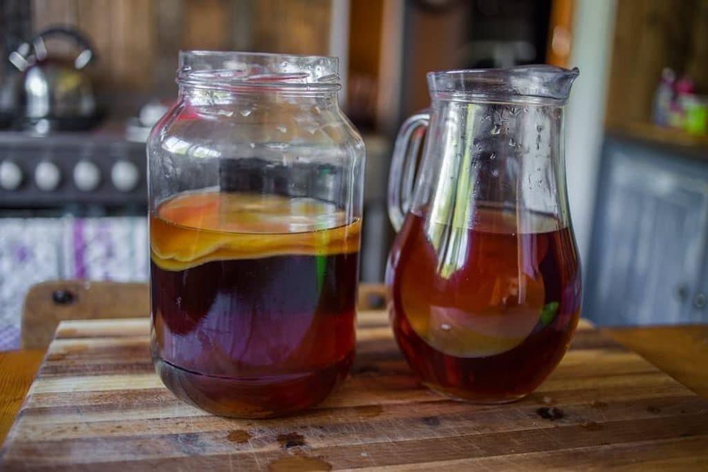 Правила хранения чайного гриба
