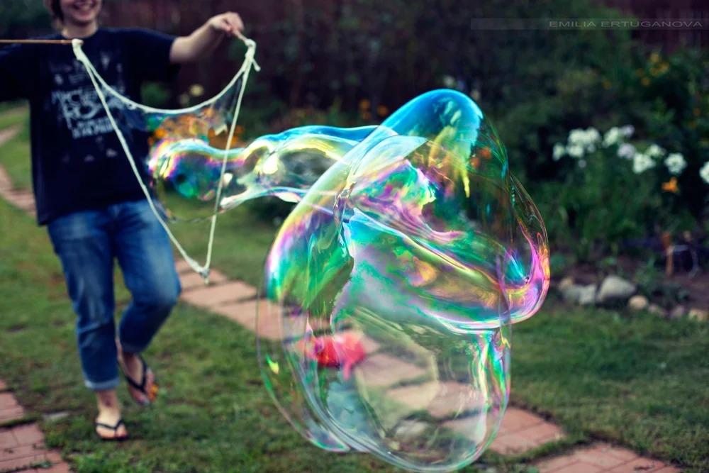 Как делают фигурные пузыри