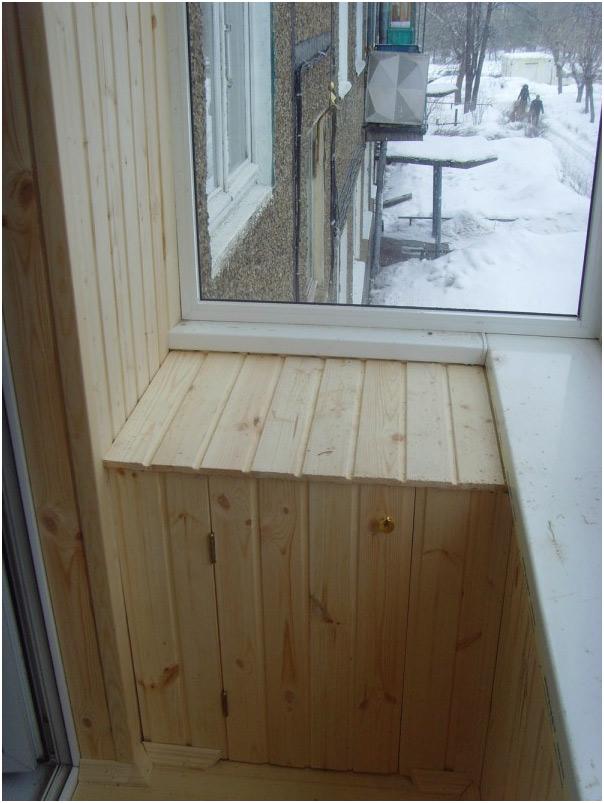 Обшивка балкона вагонкой и варианты защитных, декоративных п.