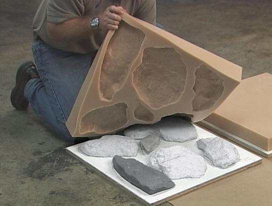 Как сделать искусственный камень своими руками