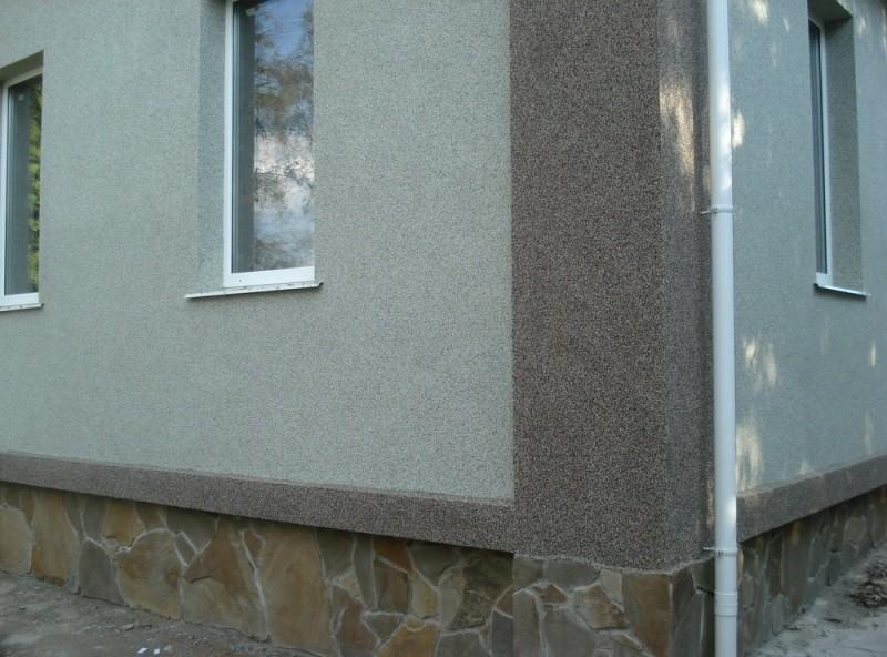 Мозаичная штукатурка для внешней отделки зданий