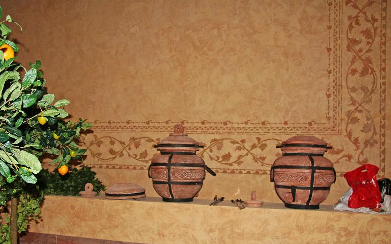 штукатурка стен глиной