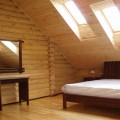Блок-хаус в интерьере