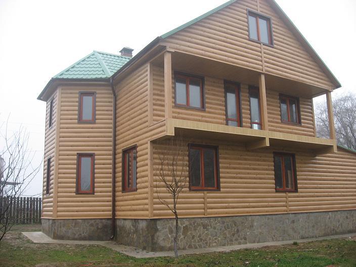Обшивка дома блок-хаусом, приводим фасад в порядок