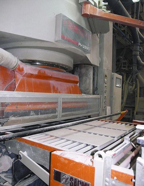 производство керамогранита