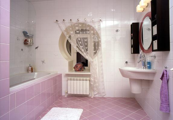 технология укладки плитки в ванной