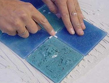 кладка керамической плитки
