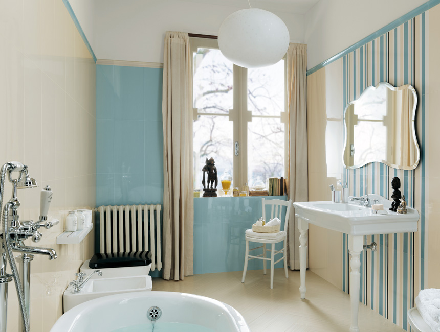 Укладка плитки в ванной – многообразие возможностей