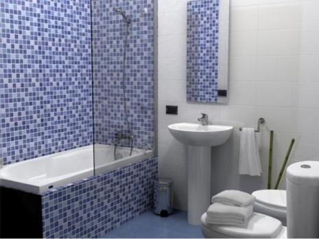 кладка керамической плитки в ванной