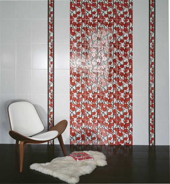 облицовка стен керамической плиткой цена