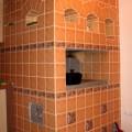 облицовка печей керамической плиткой