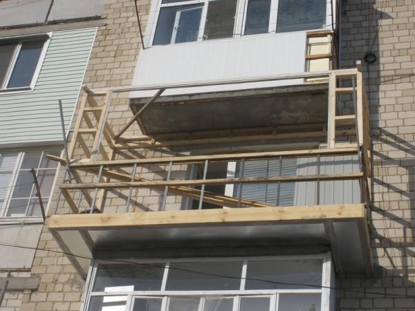 Как сделать раму на балкон