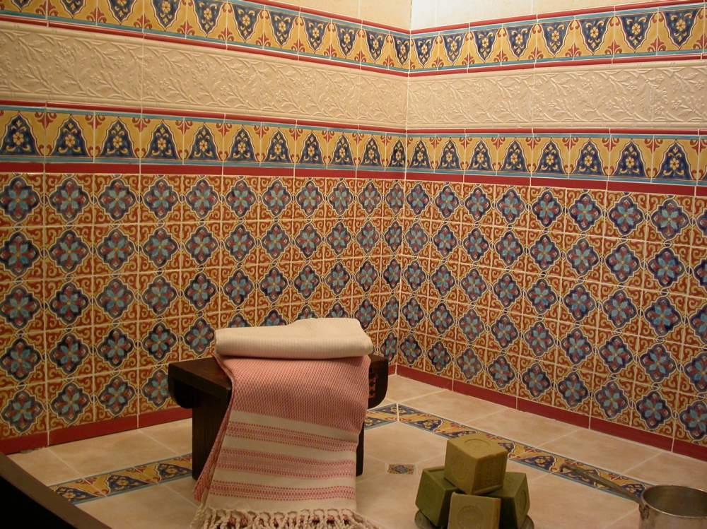 виды плитки для ванной