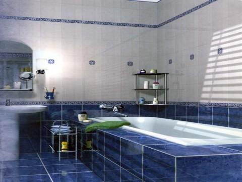 как укладывать плитку в ванной