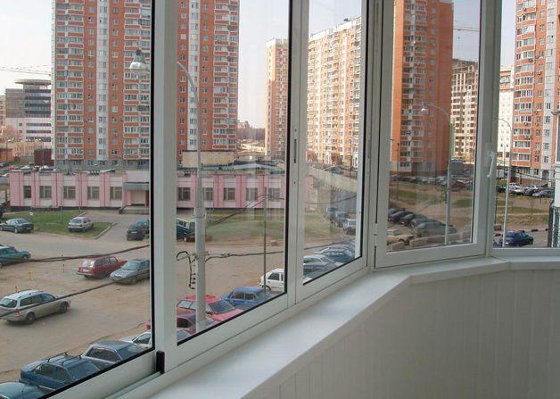 алюминиевое остекление балконов лоджий