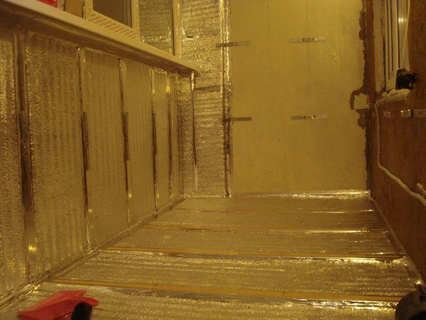 Как обделать балкон изнутри