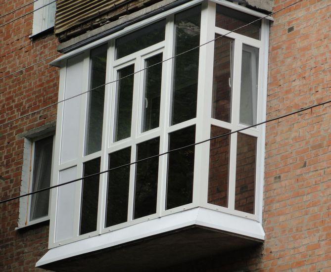 технология остекления балкона