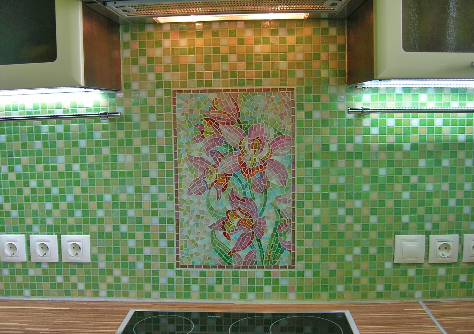 плитка на кухню на стену